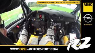 Helmkamera 3-Städte Rallye - ADAC Opel Rallye Junior Team