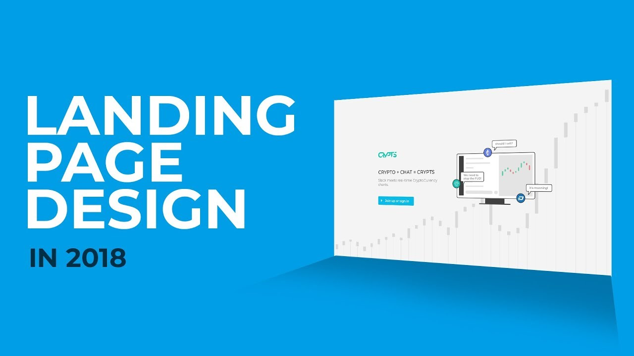 landing page tutorial for 2018 part 1 of 2 design
