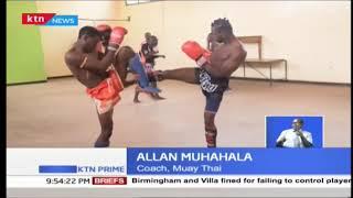 Kayole youth engage in Muay Thai kick boxing