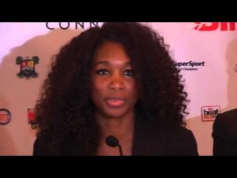 Venus and Serena Williams champion women's rights on Africa tour