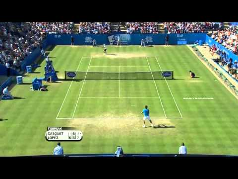 Richard Gasquet v Feliciano Lopez (Eastbourne Final)
