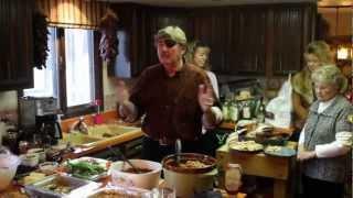 علي المشعل مع عائله مرسيدس في يوم الشكر - Thanksgiving