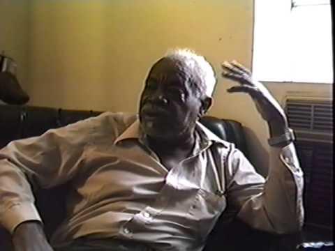 """William """"Geechee"""" Robinson Interview (Aug. 1989), part 1"""