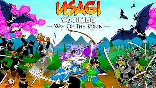 USAGI YOJIMBO: Way of the Ronin - ally of Teenage Mutant Ninja Turtles