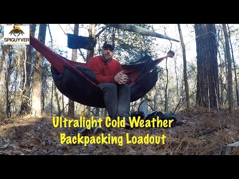 ultralight cold weather backpacking  hammock  load out ultralight cold weather backpacking  hammock  load out   youtube  rh   youtube