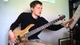 Soul Intro The Chicken Jaco Pastorius Bass Cover