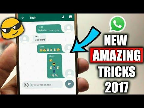 10 New Amazing WhatsApp Tricks You Should Try 2017