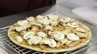 Healthy Weight Week Fast Food Challenge Chicken Mushroom Pizza