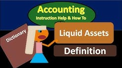 Liquid Assets Definition - What are Liquid Assets?