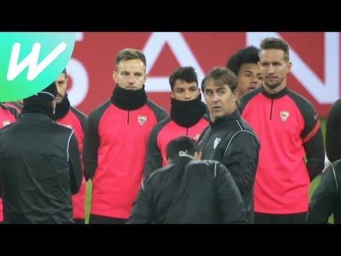Sevilla Prepare For Dortmund 2ng Leg | Dortmund Vs Sevilla | Last 16 | Champions League | 2020/21