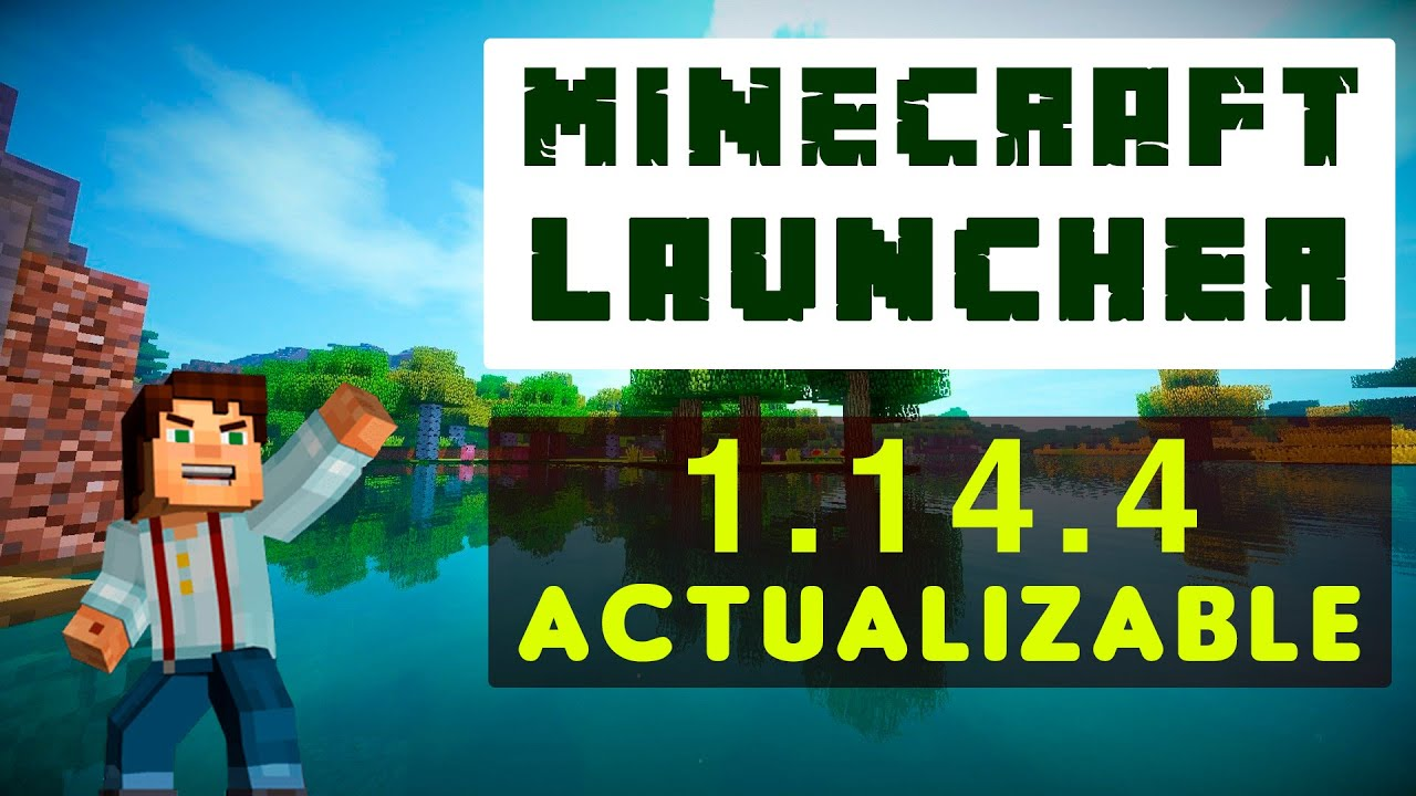 DESCARGAR MINECRAFT 1.14.4 | MINECRAFT LAUNCH…