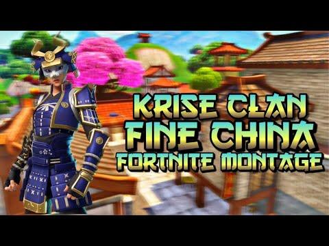 "Krise Clan | ""Fine China"" Juice WRLD & Future | Fortnite Montage | Recruiting Members! | (Xbox,PS4)"