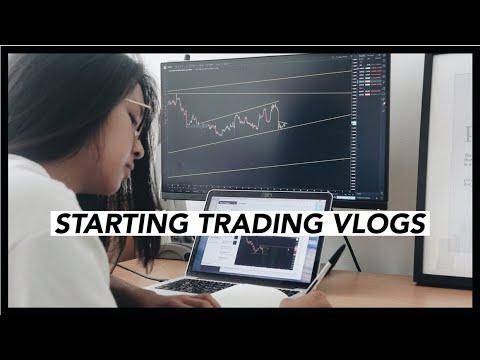 STARTING TRADING VLOGS | hannahforex