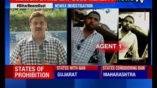 Nitish Kumar's 'moral lecture' dented; NewsX sting exposes liquor business in Bihar