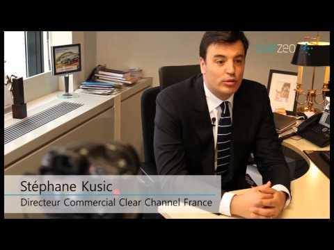 Salezeo : Stéphane KUSIC Directeur Commercial Clear Channel France