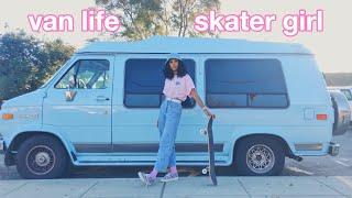 VAN LIFE SKATER GIRL
