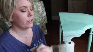 Furniture Painting Tips: How To Dry Brush Furniture Tutorial