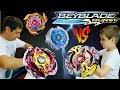 БейБлэйд Битва Зейтрон з3 Galaxy Zeus VS Spyzen S3 Valtryek V3 Caynox C3 BeyBlade 2 Сезон