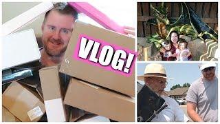 VLOG | EPIC Unboxing, A Big Fix & A CASTLE