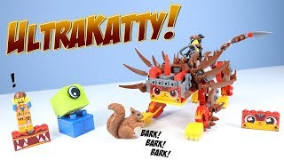 The LEGO Movie 2 Ultrakatty & Warrior Lucy! Set Build Review 70827