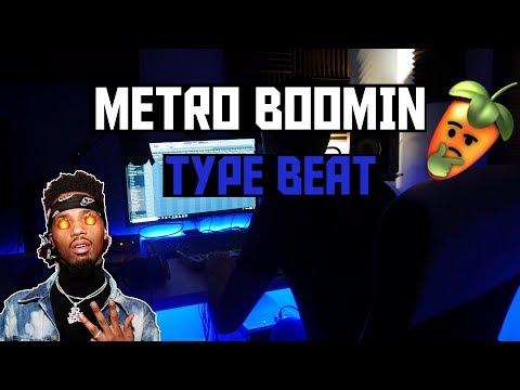 HOW TO MAKE A METRO BOOMIN TYPE BEAT FROM SCRATCH - FL STUDIO 12 BEATMAKING