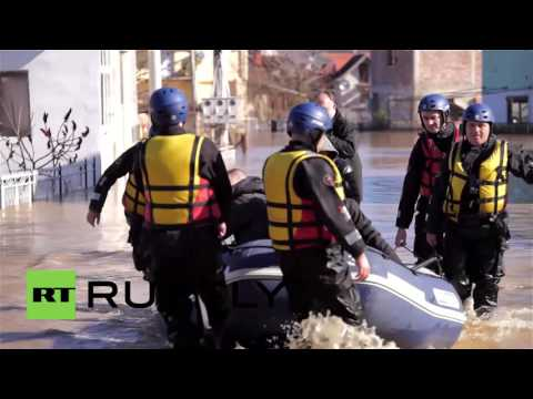 Serbia: State of natural disaster to be called as heavy flooding ravages Serbia