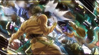 Every moment where Dio gets hit, stabbed, shot, burned, ORA'd, or i...