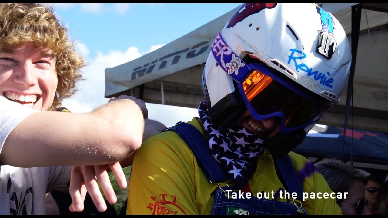 Danny Duncan and Ronnie Mac Race Nascar...Kinda