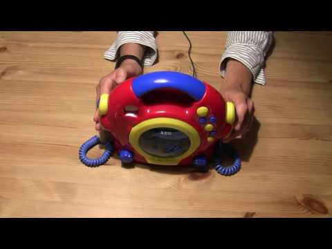 Kinder CD Player - AEG CDK 4229