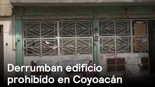 Derrumban edificio en Coyoacán - CDMX - En Punto con Denise Maerker thumbnail