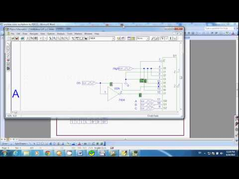 Digital: Multiplexer with PSPICE
