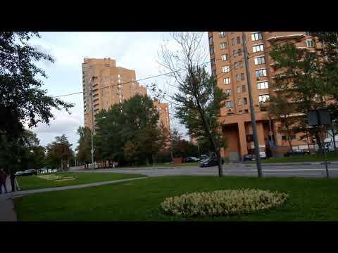 Москва 225 Зеленодольский проезд лето вечер