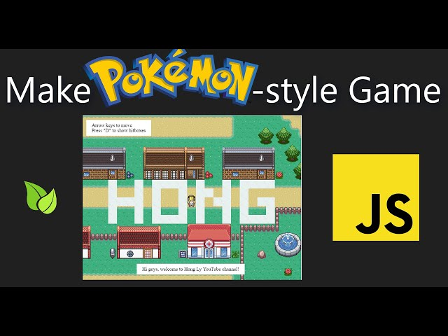 Make Pokemon-Style Game in JavaScript