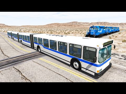Train Accidents #9 - BeamNG DRIVE | SmashChan