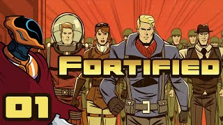 Come My Creepy, Soulless Minions! - Let's Play Fortified - Gameplay Part 1