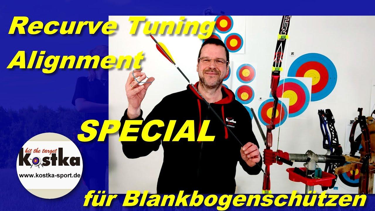 Recurvebogentuning - SPECIAL - Wurfarm Alignment für Blankbogenschützen