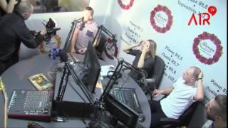 Joryj Kłoc в ефірі на радіо FM Галичина