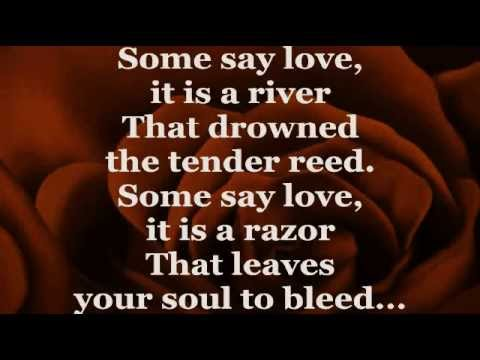 THE ROSE (Lyrics) - BETTE MIDLER