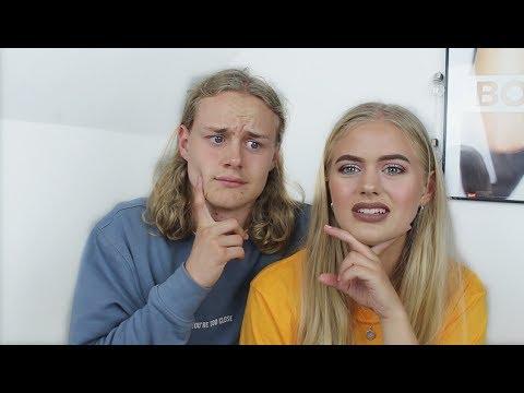GÆTTER YOUTUBERS PÅ 1 SEKUND   ft. Isabel Rigenstrup