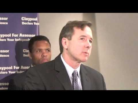 Claypool announces independent bid for Cook Co. assessor