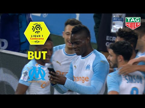 But Mario BALOTELLI (12') / Olympique de Marseille - AS Saint-Etienne (2-0)  (OM-ASSE)/ 2018-19