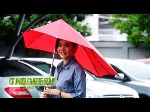 [senz° umbrella review] ร่ม senz° ทนฟ้า ฝน และพายุ