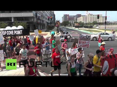 USA: Activists call for end to gas export terminal construction