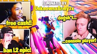 TFUE CLOAKZY *DEVESTATED* BY PRO CONTROLLER UNKNOWN in SQUAD FINALS! (Fortnite Chapter 2 Tournament)