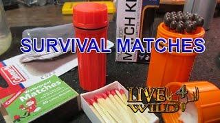 SURVIVAL MATCHES