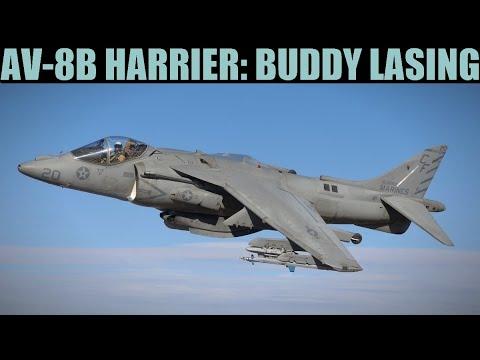 AV-8B Harrier: Buddy Lasing Tutorial   DCS WORLD