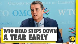 Director general of World Trade Organization resigns from the post one-year early