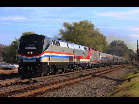 Halloween Weekend Railfanning 10/28-29/2016: Amtrak Autumn Express Chase, Alburtis & NEC Action!