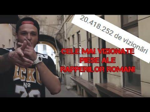 Cele mai vizionate piese ale rapperilor romani (2018)