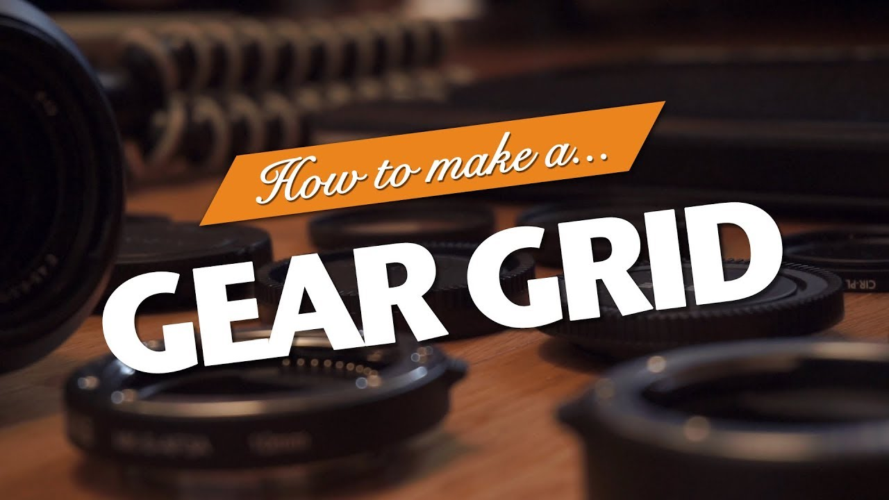 How To Make A Gear Grid | IFHT Films x EVOC Giveaway Entry